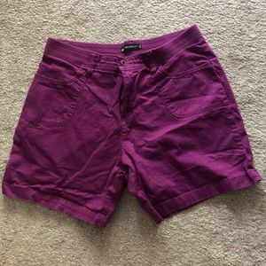 Women's Lee Purple Shorts